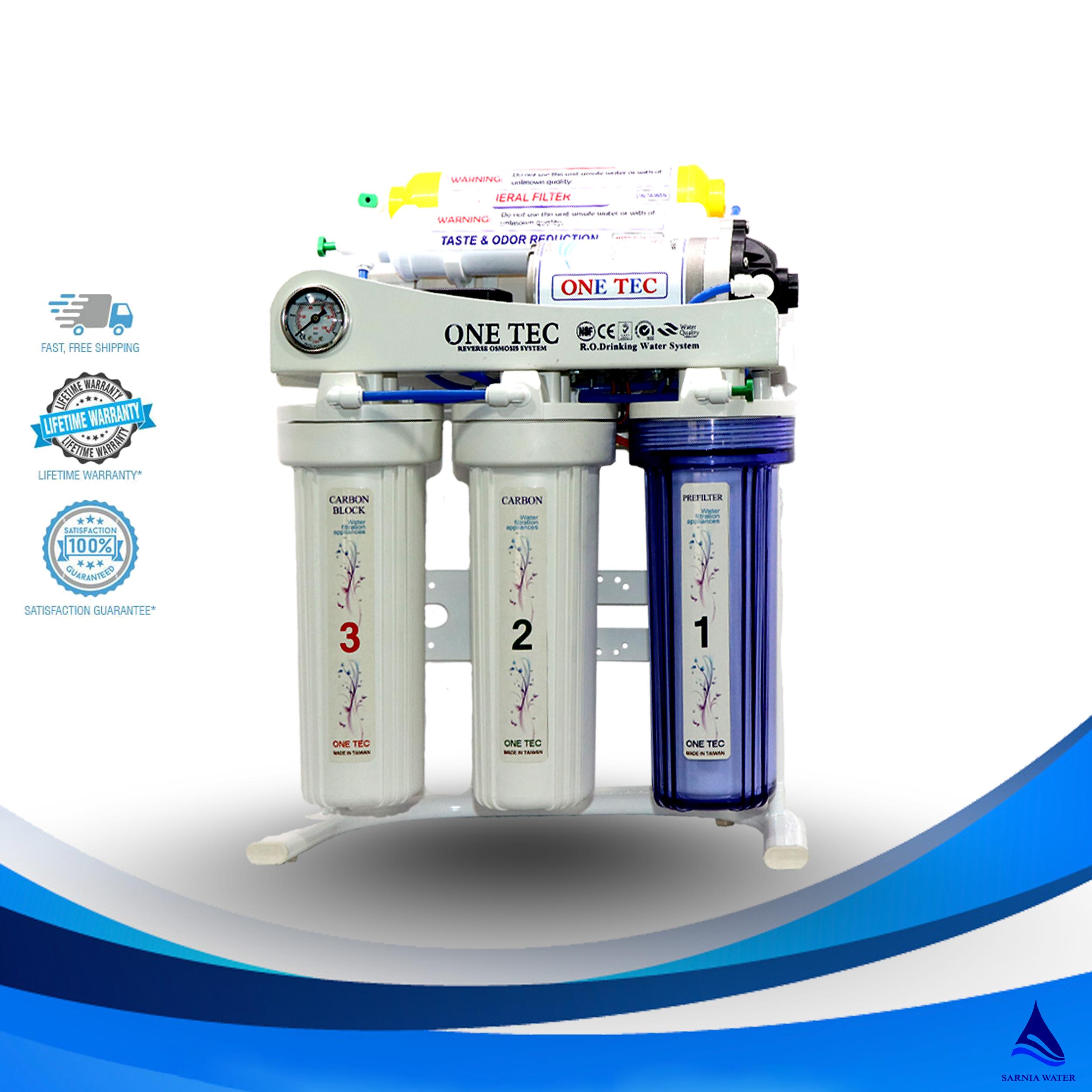 دستگاه تصفیه آب وان تک مدل A6h-G - دستگاه تصفیه آب وان تک