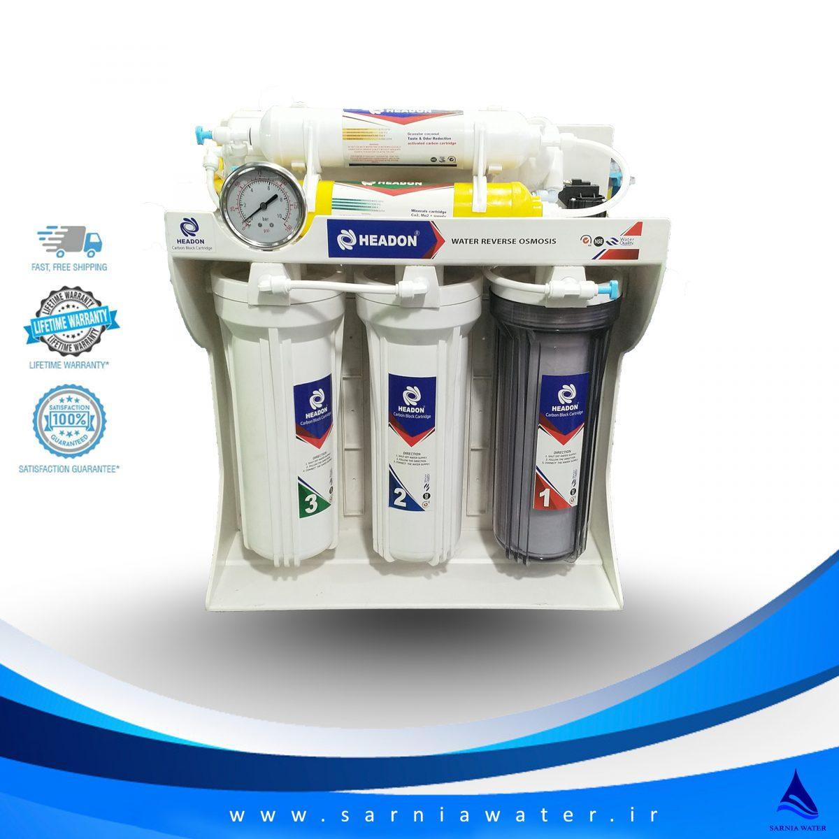 دستگاه تصفیه آب هیدون - دستگاه تصفیه آب - دستگاه تصفیه آب خانگی
