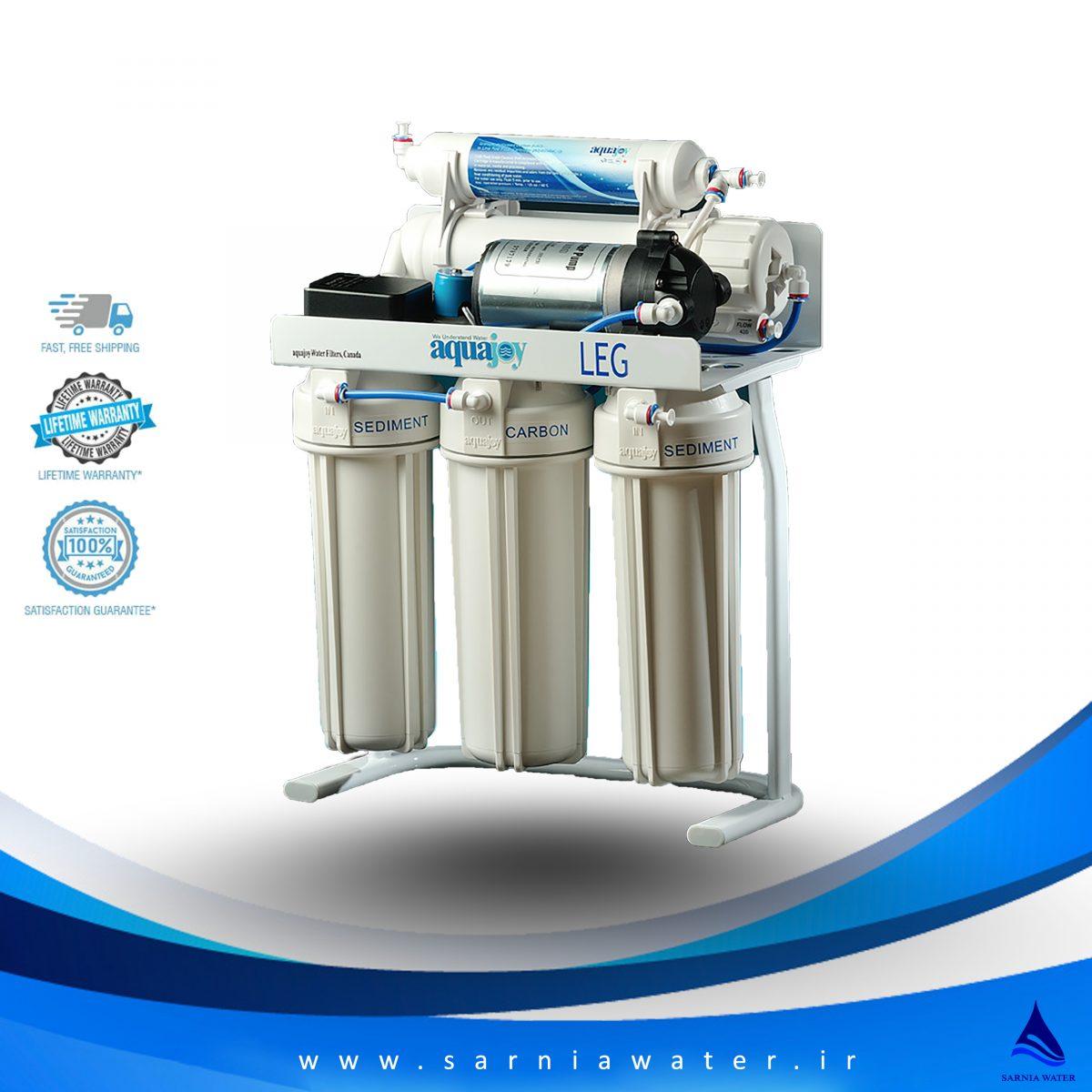دستگاه تصفیه آب آکواجوی - دستگاه تصفیه آب خانگی - دستگاه تصفیه آب