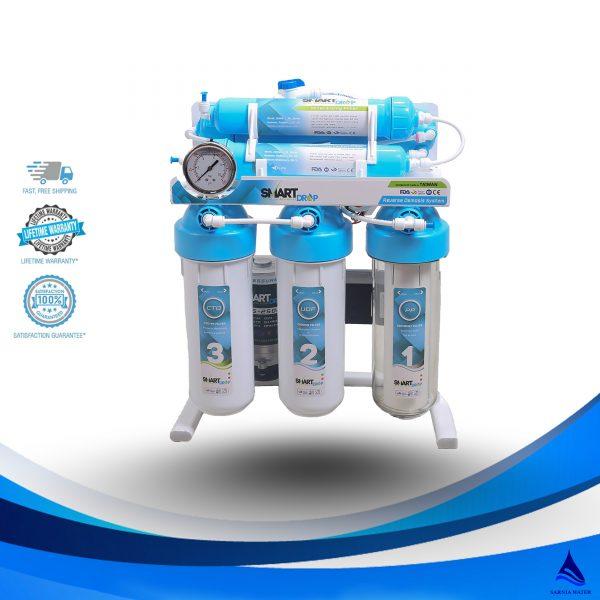 سارنیا واتر - دستگاه تصفیه آب خانگی - تصفیه آب اسمارت دراپ